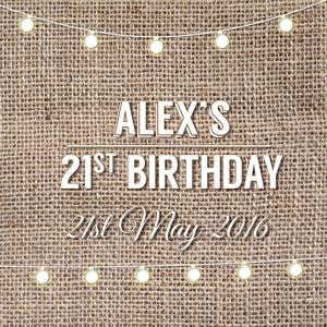 Alex's 21st Party