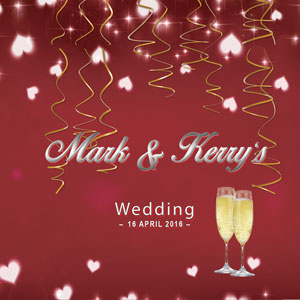 Mark & Kerry's Wedding
